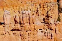 Bryce Canyon 20 Menschengruppe gelb orange von Martin Pepper