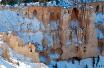 Bryce Canyon 3 Schneestadt von Martin Pepper