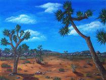 Joshua Tree Desert by Anastasiya Malakhova