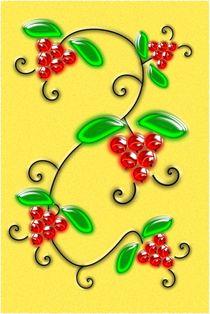 Juicy Berries von Anastasiya Malakhova