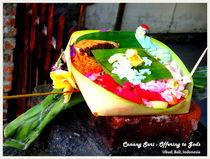 Canang Sari by Shella Hudaya