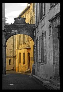 Arc de portail (or) von Franziska Giga Maria