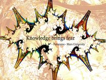 Knowledge Brings Fear von Anastasiya Malakhova