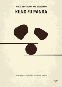 No227 My KUNG FU Panda minimal movie poster von chungkong