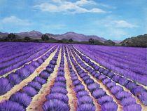 Lavender Field in Provence von Anastasiya Malakhova