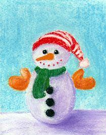 Little Snowman by Anastasiya Malakhova