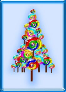 Lollipop Tree von Anastasiya Malakhova