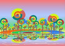 Lollypop Island by Anastasiya Malakhova