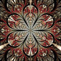 Metal Flower by Anastasiya Malakhova