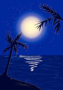 Moon by Anastasiya Malakhova
