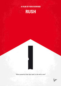 No228 My Rush minimal movie poster von chungkong