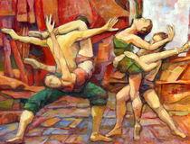 Tanz Malerei  by alfons niex