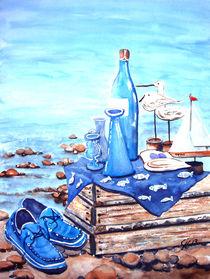 Stilleben am See von Christine  Hamm