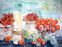 Äpfel und Hagebutten von Christine  Hamm