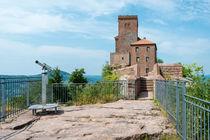 Burg Trifels -Südseite II von Erhard Hess