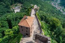 Burg Trifels von oben by Erhard Hess