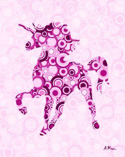 Pink-unicorn-animal-art-anastasiya-malakhova