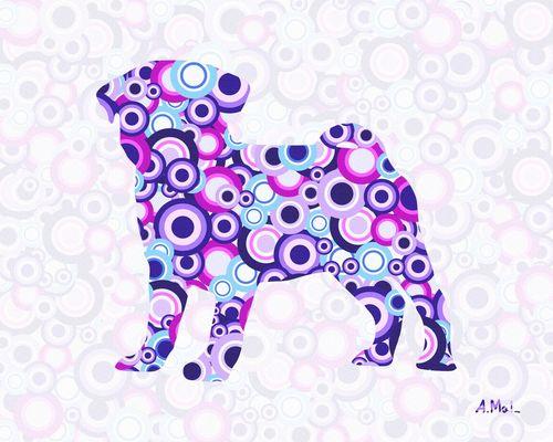 Pug-animal-art-anastasiya-malakhova