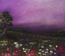 Purple Meadow von Anastasiya Malakhova