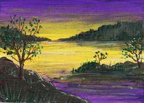 Purple Sunset von Anastasiya Malakhova