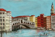 Rialto Bridge by Anastasiya Malakhova