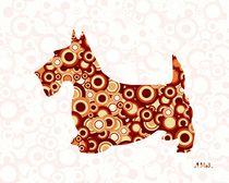 Scottish Terrier - Animal Art by Anastasiya Malakhova