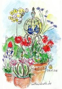 Blumentopf-Idyll von Matthias Talmeier