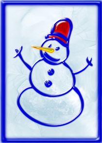 Snowman von Anastasiya Malakhova