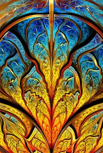 Stained Glass Expression von Anastasiya Malakhova