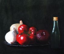 Tomatoes and Onions by Anastasiya Malakhova