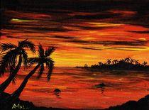 Tropical Night by Anastasiya Malakhova