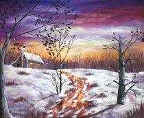 Winter House by Anastasiya Malakhova
