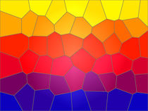 Mosaic of colour by Robert Gipson