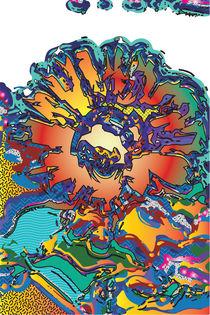 Shattered Flower von Frank Collyer