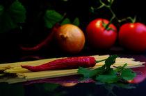 Spagetti mit frischen Zutaten von Tanja Riedel