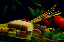 Frischer Parmesankäse zur frischen Pasta by Tanja Riedel