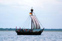 Hansekogge Ubena von Bremen, Hanseatic cog von Sabine Radtke
