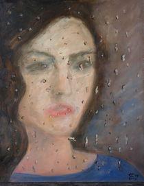 Blue Rain von Ellen Fasthuber-Huemer