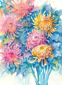 Chrisanthemums von Tania Vasylenko