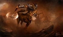 Centaur by Jiri Bukovjan