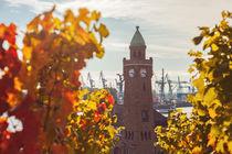 Landungbrücken im Herbst von Simone Jahnke