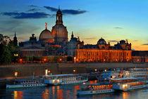 Dresden Skyline von topas images