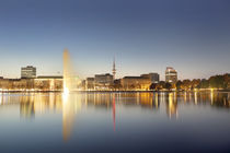 hamburg alster by Manfred Hartmann