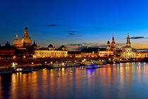 Dresden Skyline by topas images