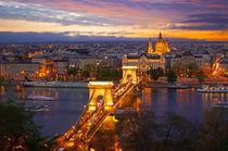 Budapest Kettenbrücke von topas images