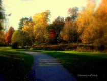 Goldener Oktober, Golden Autum by Carmen Weßling