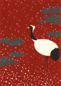 Japanese Crane von Ayumi Yoshikawa
