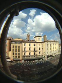 Bologna from Palazzo Re Enzo  by Azzurra Di Pietro