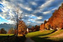 Autumn in Südtirol by Luisa Azzolini