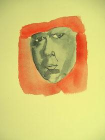Angry face von Ivana Vasic Nikolic